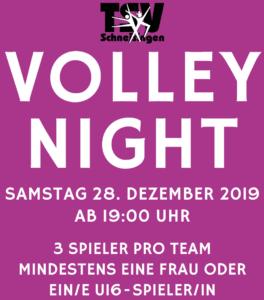 VolleyNight Flyer